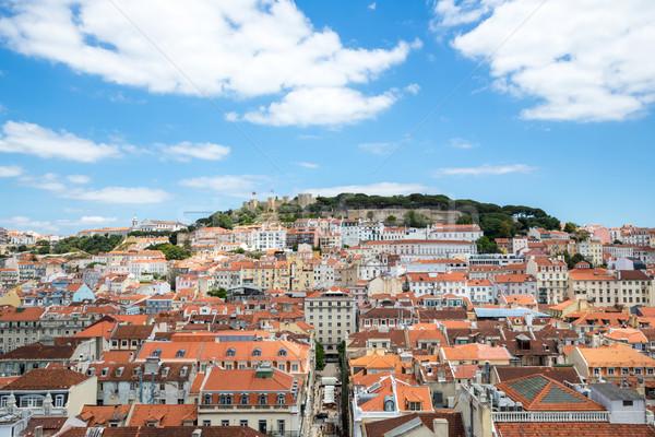 Lisbon cityscape Stock photo © vichie81