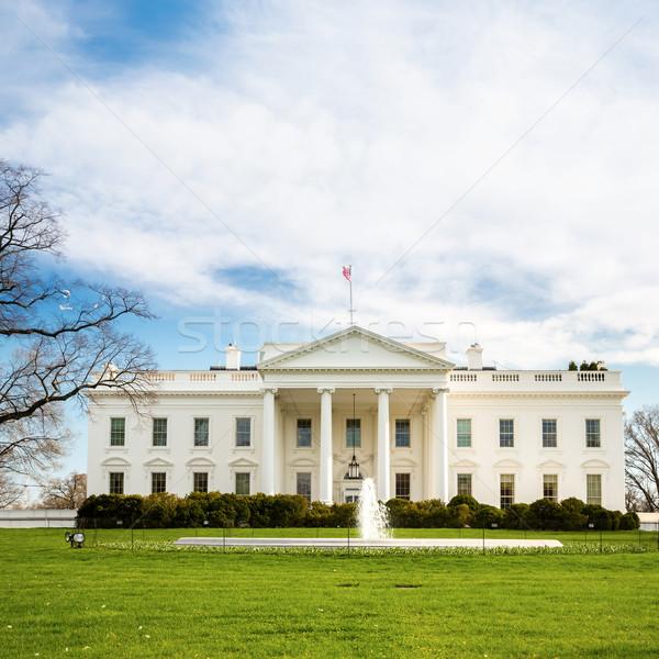 Casa bianca Washington DC Stati Uniti ufficio casa bianco Foto d'archivio © vichie81