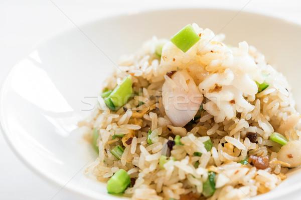 Frutti di mare riso cinese verdura alimentare Foto d'archivio © vichie81