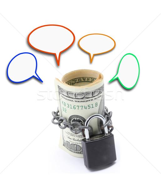 Money Saving Insurance Concept Stock photo © vichie81