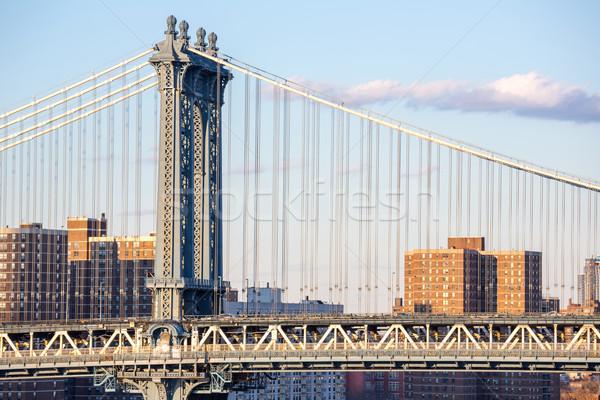 Manhattan Bridge Stock photo © vichie81
