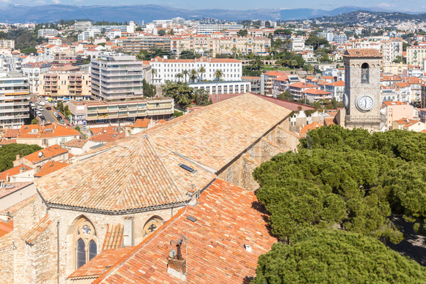 Cannes Notre-Dame france Stock photo © vichie81