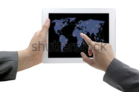 social network technology Stock photo © vichie81
