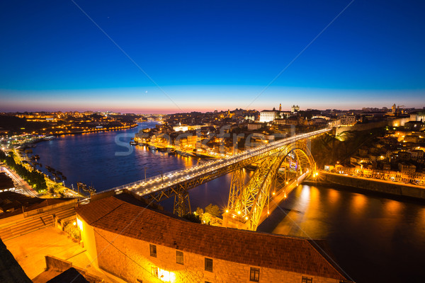 Porto Dom Luiz bridge Stock photo © vichie81