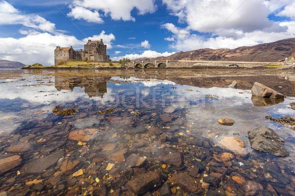 Eilean Donan Castle Scotland Stock photo © vichie81
