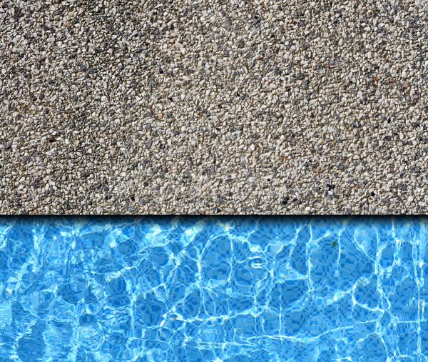 каменные тротуар бассейна весны аннотация Сток-фото © vichie81