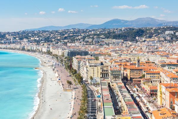 France Nice Mediterranean Stock photo © vichie81