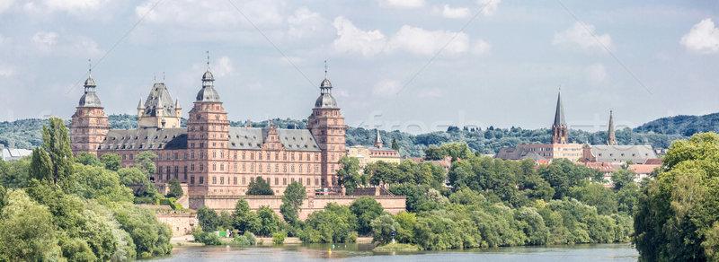 Johannisburg palace panorama Stock photo © vichie81