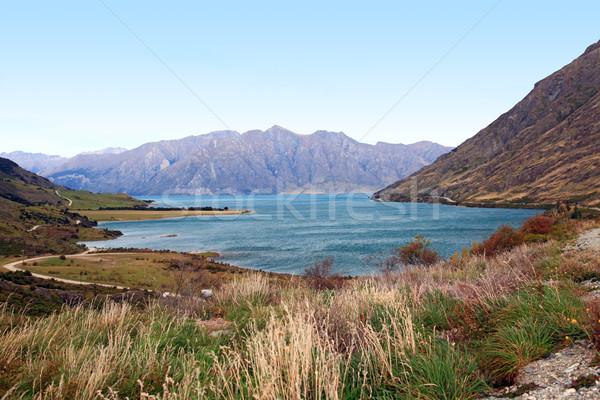 Lake Hawea New Zealand Stock photo © vichie81