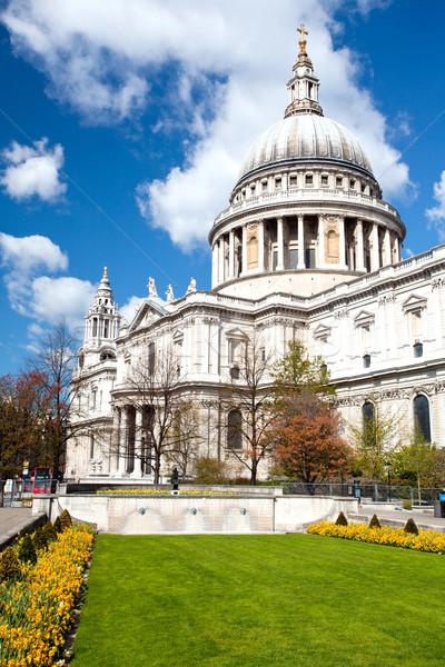 Saint Paul Cathedual London Stock photo © vichie81