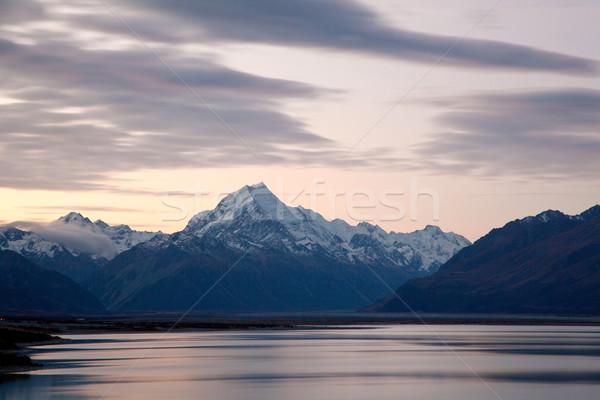 Mountain Cook New Zealand Stock photo © vichie81