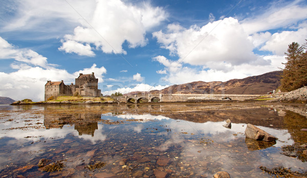Eilean Donan Castle Panorama Stock photo © vichie81