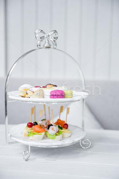 High Tea set  Stock photo © vichie81