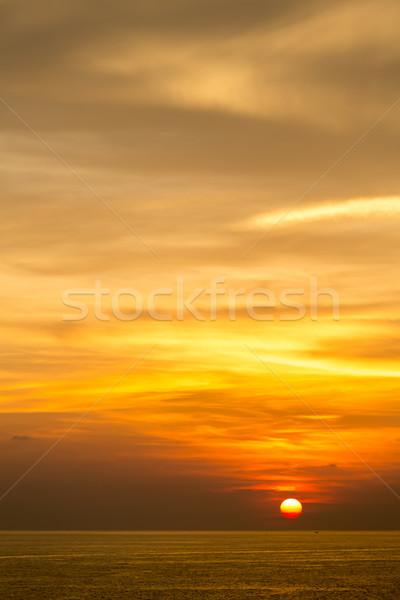 Sunset at Andaman sea Stock photo © vichie81