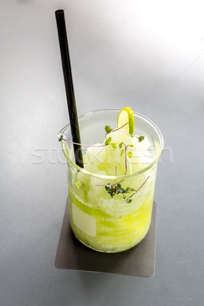 Ice Lemon Frappe Stock photo © vichie81
