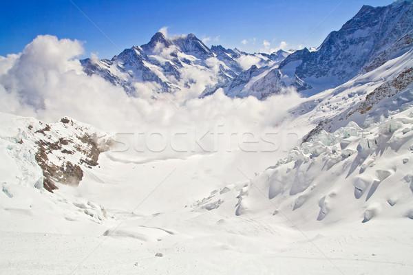 Jungfraujoch Switzerland Stock photo © vichie81