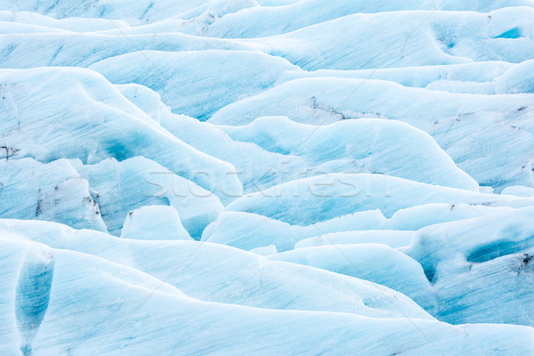 ледник Исландия парка льда зима синий Сток-фото © vichie81