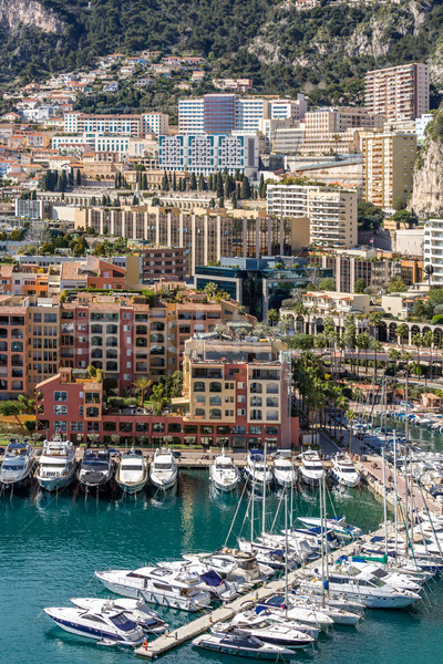 Mônaco cityscape francês água paisagem mar Foto stock © vichie81