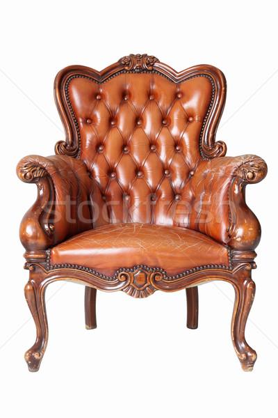 leather Sofa Stock photo © vichie81