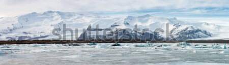 vatnajokull Glacier Iceland Stock photo © vichie81