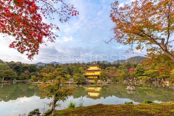 Golden Pavilion Kinkakuji Stock photo © vichie81