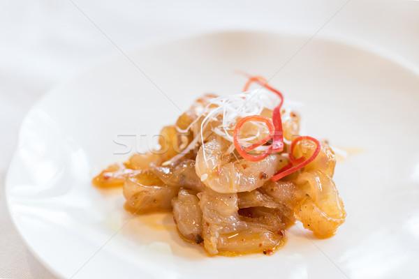 クラゲ 辛い サラダ 中国語 シーフード 食品 ストックフォト © vichie81