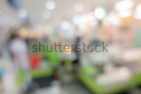 Blurred background : Supermarket Stock photo © vichie81