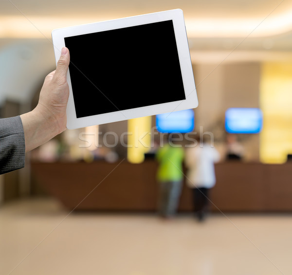 Hotel Blurred background Stock photo © vichie81