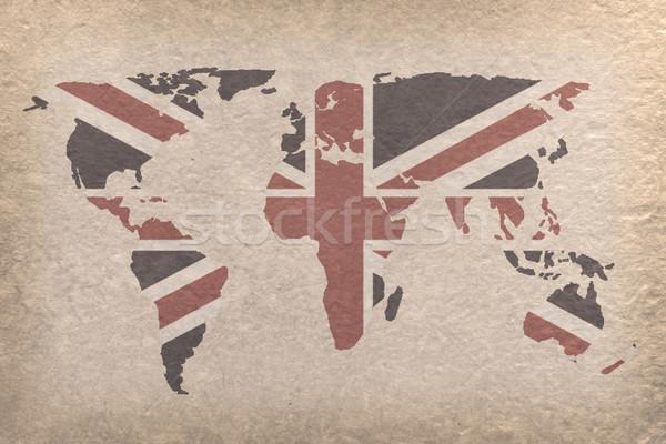 UK world map Stock photo © vichie81