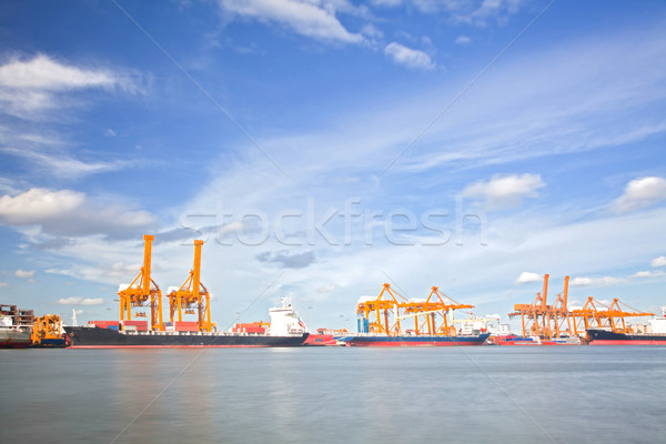 Cargo Ships Stock photo © vichie81