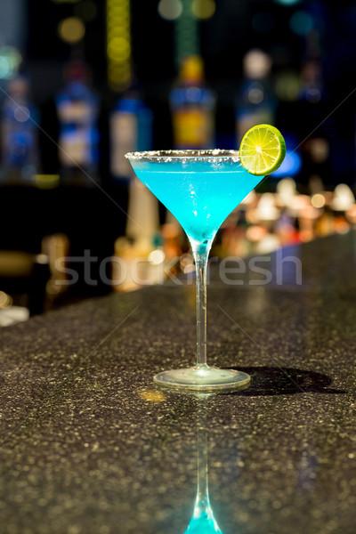 Coquetel copo bar comida vidro gelo Foto stock © vichie81
