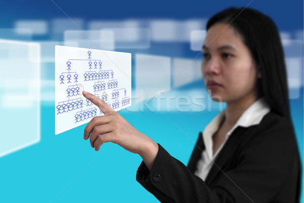 Job Seeking Recruitment Concept Stock photo © vichie81