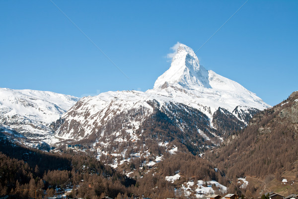 Swiss alps Stock photo © vichie81