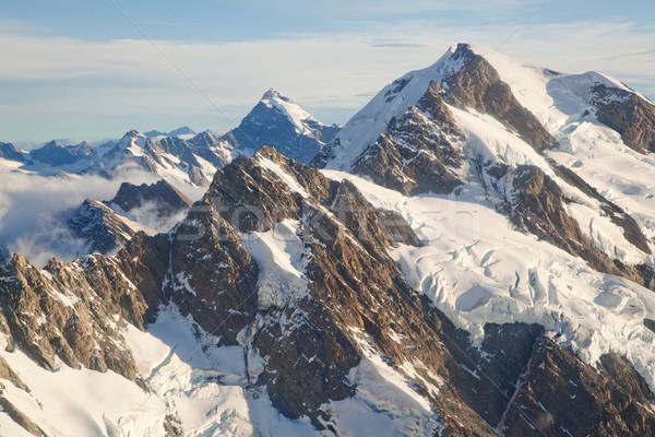 Mountain Cook Range Landscape New Zealand Stock photo © vichie81