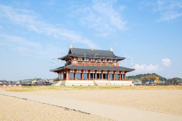 Heijo Palace Nara Japan Stock photo © vichie81