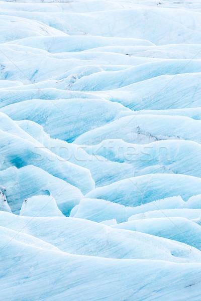 氷河 アイスランド 公園 氷 冬 青 ストックフォト © vichie81