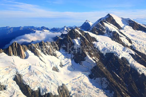 Mountain Cook Peak New Zealand Stock photo © vichie81