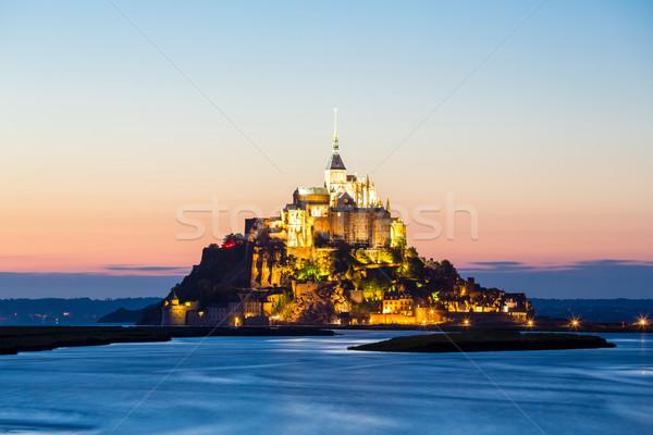 Mont Saint Michele, France Stock photo © vichie81