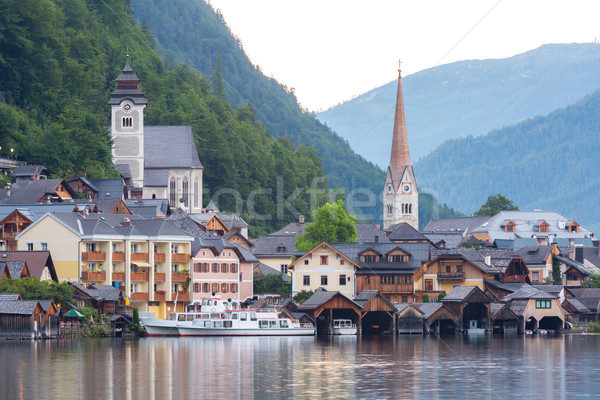 Foto d'archivio: Frazione · Austria · classico · view · casa · città