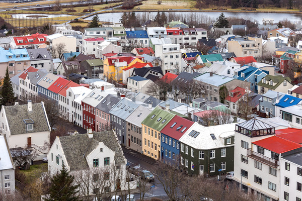 Reykjavik ICeland Stock photo © vichie81