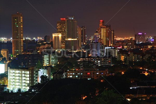 penang cityscape malaysia Stock photo © vichie81