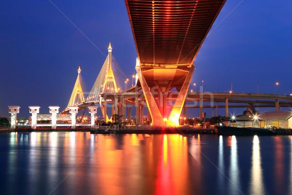 Bangkok industriali ponte anello Foto d'archivio © vichie81