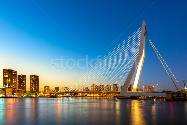 Stock photo: Erasmus bridge Rotterdam