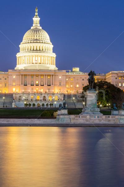 US Capitol Building dusk Stock photo © vichie81