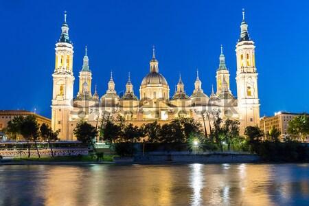 Basílica Espanha panorama senhora rio Foto stock © vichie81