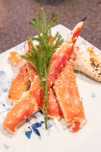 red king crab Stock photo © vichie81