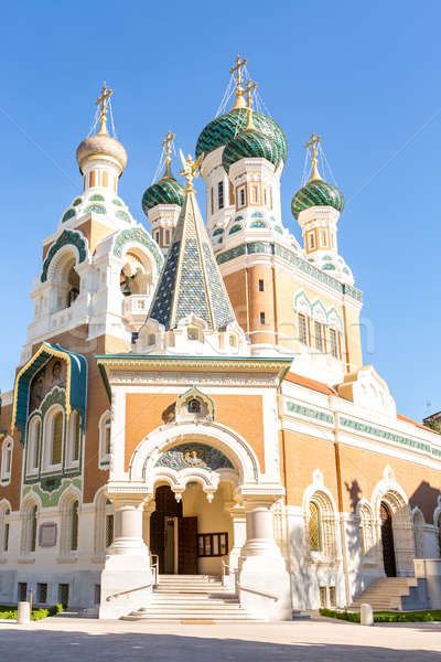 Orthodoxy church Nice France Stock photo © vichie81
