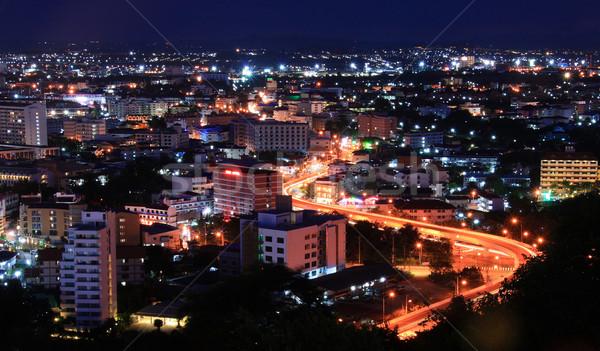 Pattaya Highway Thailand Stock photo © vichie81