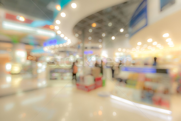 shopping mall Blurred background Stock photo © vichie81