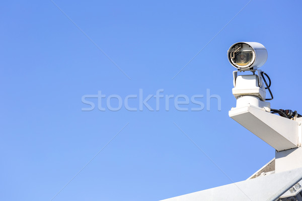 CCTV security camera Stock photo © vichie81
